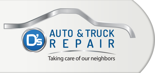 D's Auto and Truck Repair Logo